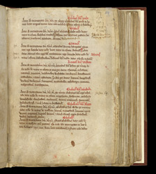 The Founding of the Abbey, In An Evesham Cartulary